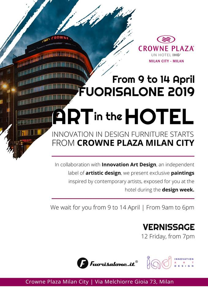 crowne plaza vernissage InnovationArt Design